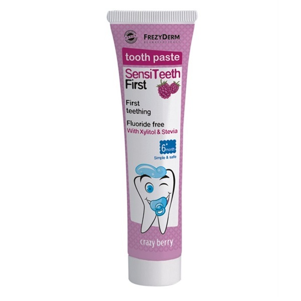 Frezyderm Sensiteeth Βρεφική Οδοντόκρεμα 40ml