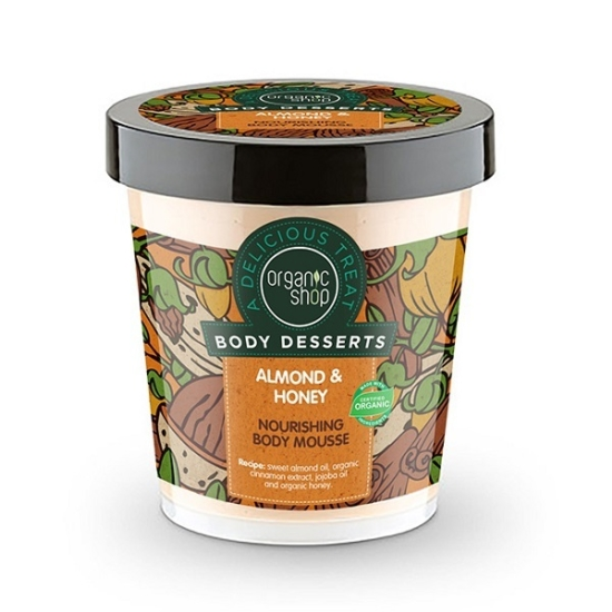 Organic Shop Body Desserts Μους θρέψης σ